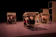 9293_Trio Backbends in Cubes_DanceAbility by Michael Kevin Daly
