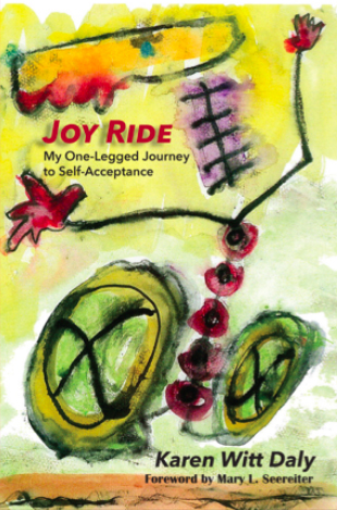 "Karen Daly ""Joy Ride"" Book Cover"